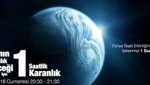 """""""Dünya Saati"""" Etkinliğine Bu Yıl Da Destek Oluyoruz"""