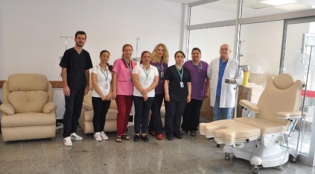 Çanakkale Mehmet Akif Ersoy Devlet Hastanesi Kemoterapi Ünitesi 6 Ayda 3000 Hastaya Hizmet Verdi