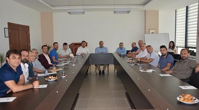 ÇTSO Sigorta Meslek Grubu Üyeleri TOBB İl Delege Seçimleri İçin Bir Araya Geldi