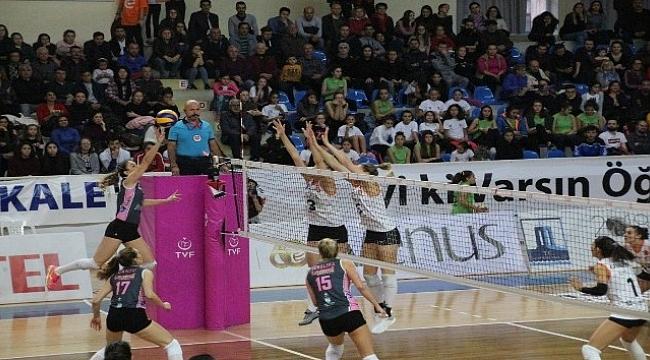 Vestel Venus Sultanlar Ligi: Çanakkal Belediyespor: 0 - Eczacıbaşı Vitra: 3