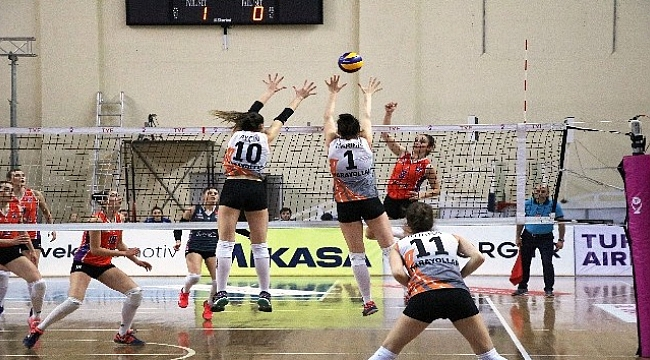 Vestel Venus Sultanlar Ligi: Çanakkale Belediyespor: 2 - Karayolları: 3