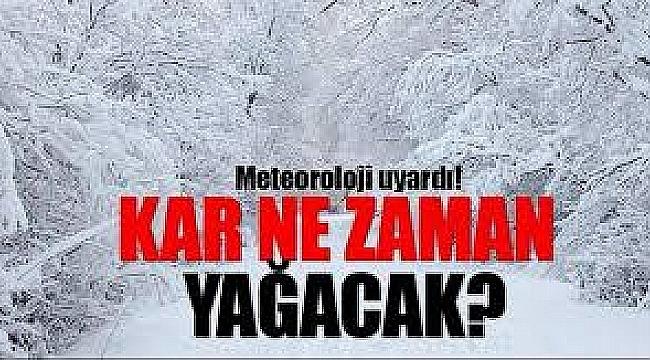 Çanakkale'ye yoğun kar bekleniyor: Kalınlığı 20 santimetreyi geçebilir!