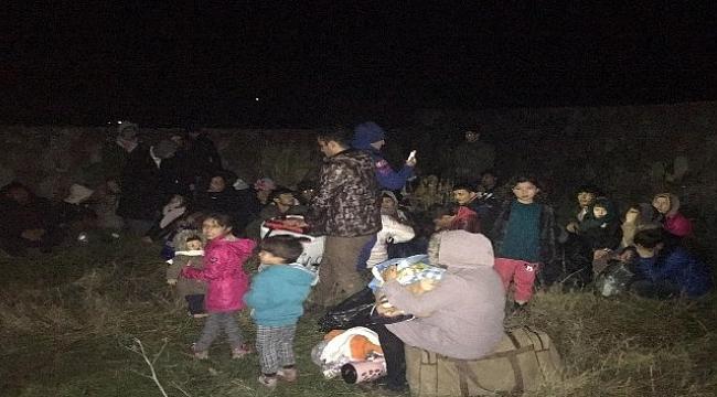 Ayvacık'da 39 Mülteci Yakalandı