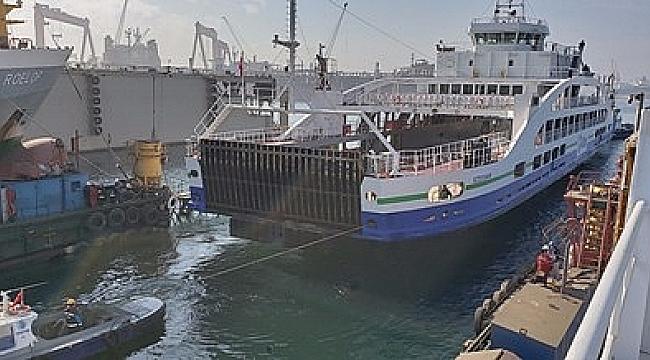 GESTAŞ'ın 5 gemisi bakım için tersanede