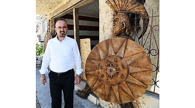 Troya Belgeseli Türkiye Büyük Millet Meclisi'nde Gösterilecek