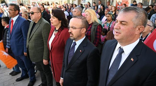 Turan ''Biz Beka Sorununu Ezbere Söylemiyoruz