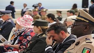 Çanakkale Kara Savaşlarının 104'üncü Yıl Dönümü Törenle Anıldı