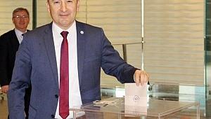 Şarlan, Yönetim Kurulu'nda Türkiye Barolar Birliğini ve Baroları temsil edecek.
