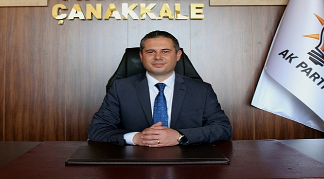 Ak Parti Çanakkale İl Başkanı Gültekin Yıldız