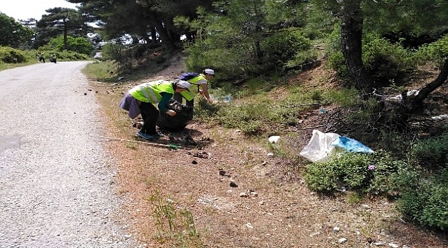 Bayramiç'in köylerinde temizlik seferberliği