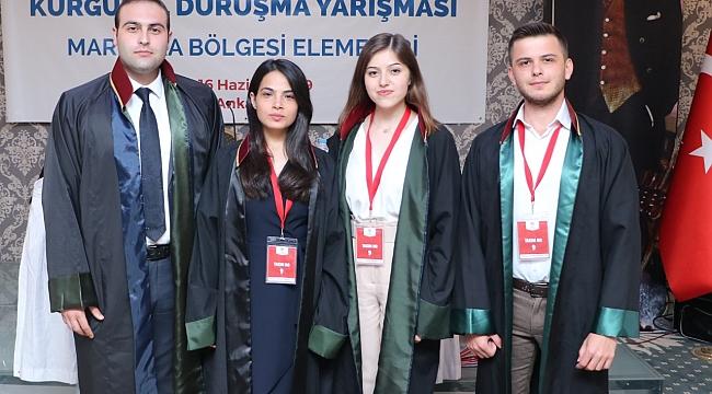 ÇANAKKALE BAROSU  TÜRKİYE KURGUSAL DURUŞMA YARIŞMASI'NA KATILDI