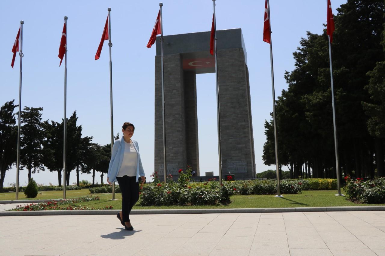 Jülide İSKENDEROĞLU  '' ÇANAKKALE, TURİZMDE DÜNYADAKİ HAK ETTİĞİ YERE GELECEK''