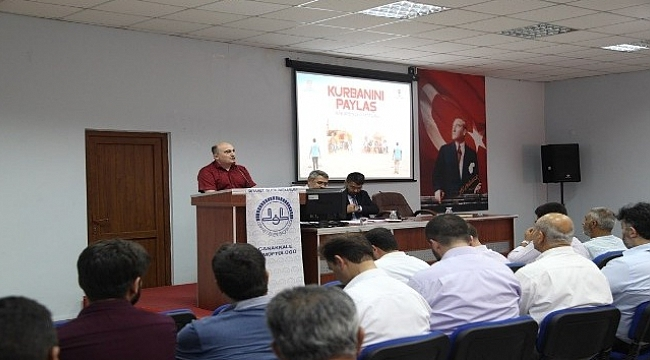 2019 yılı kurban tanıtım toplantısı yapıldı