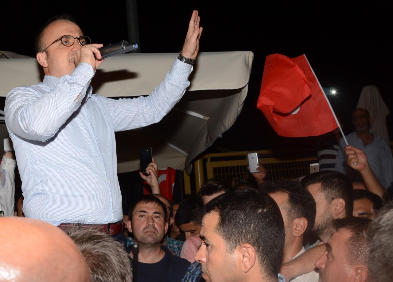 AK Parti Grup Başkanvekili Bülent Turan,''15 Temmuz'' ile ilgili yazılı bir açıklamada buluındu.