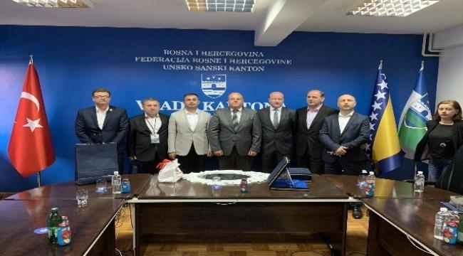 Başkan Erdoğan ve Bigalılar'dan Bosna Hersek'e ziyaret