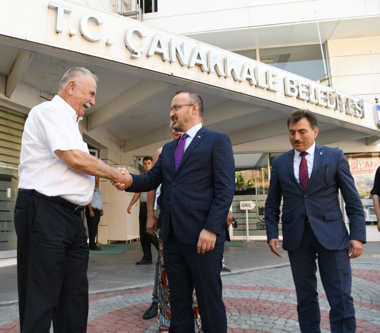 Bülent Turan'dan Ülgür Gökhan'a ziyaret
