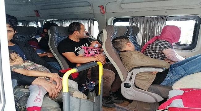 Çanakkale'de 43 mülteci yakalandı