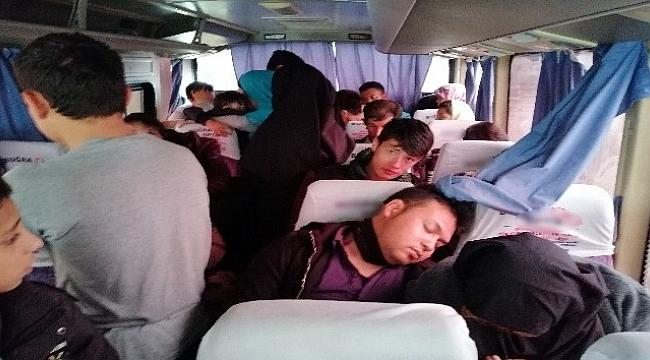 Çanakkale'de 52 mülteci yakalandı