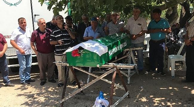 Eşinin amcası tarafından öldürülen genç son yolculuğuna uğurlandı