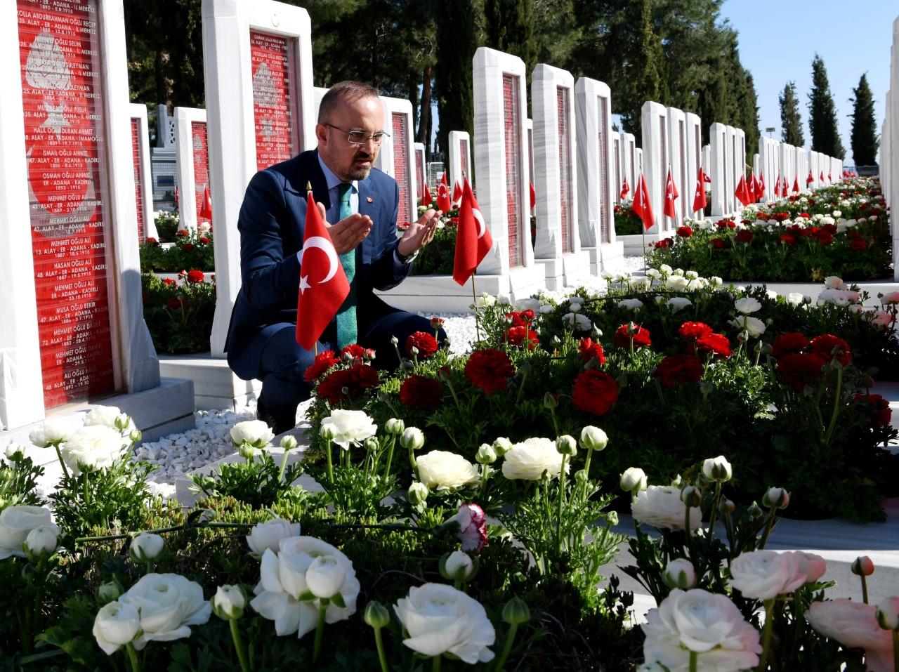 Bülent Turan'dan  Anafartalar Zaferi ile ilgili açıklama