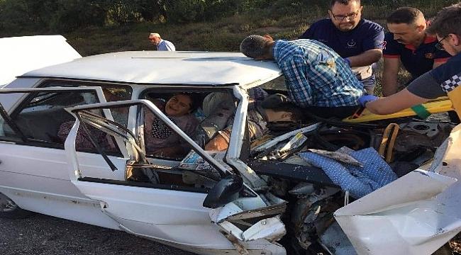 Kazada can pazarı: 2 ölü, 2 ağır yaralı