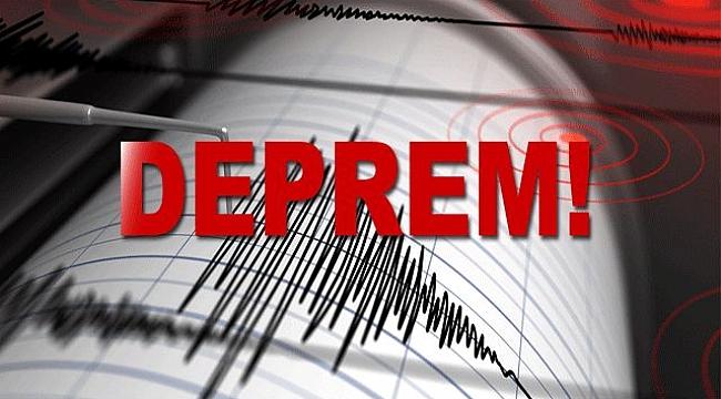 Çanakkale'de 3,8 şiddetinde deprem
