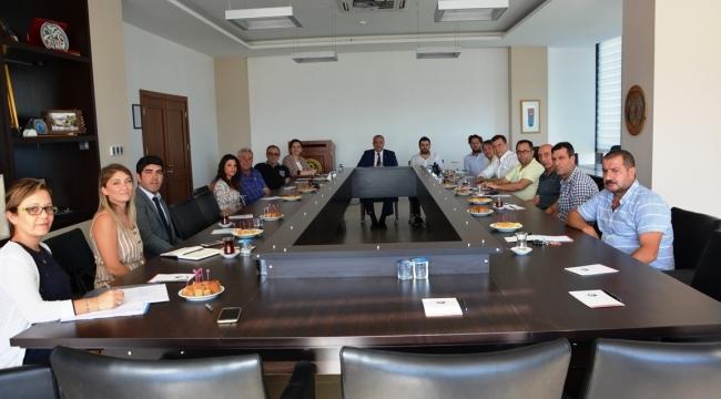 ÇTSO 20'NOLU MESLEK GRUBU ÜYELERİ İLE BİR ARAYA GELDİ