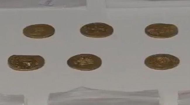 Gülpınar da 500 Yıllık Bizans Hazinesi Bulundu