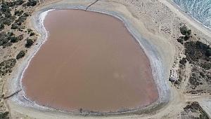 Kalpli göl'ün pembeleşmesi için heyecanlı bekleyiş sürüyor