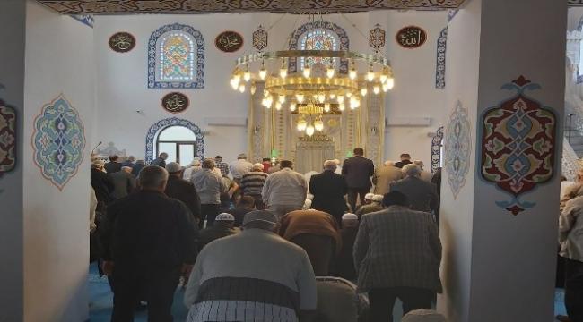 Şehitler Camii hizmete açıldı