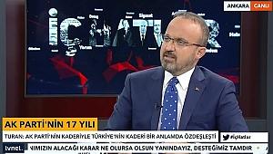 AK Partili Turan'dan Bülent Arınç'a: Ben olsam istifa ederdim