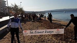 Bahçeşehir Koleji Türkiye'nin en büyük kıyı temizleme hareketini gerçekleştirdi