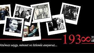 Belediye Başkanı Sayın Ülgür Gökhan'ın 10 Kasım Atatürk'ü Anma Mesajı...