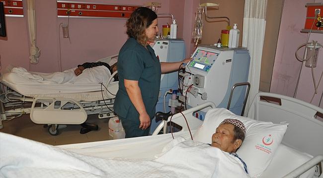 Ezine Devlet Hastanesinde kapasite artırımı