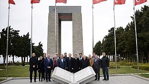 Bosna Hersek'in Ankara Büyükelçisi Sadoviç, Gelibolu Yarımadası Tarihi Milli Parkı'nı ziyaret etti