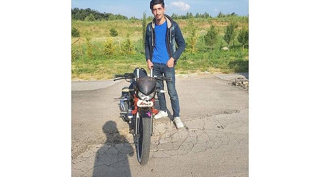 Genç sürücü motosiklet kazasında hayatını kaybetti