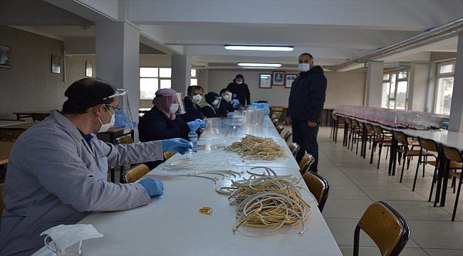 Biga'da günde 1000 yüz korumalı siper üretiliyor