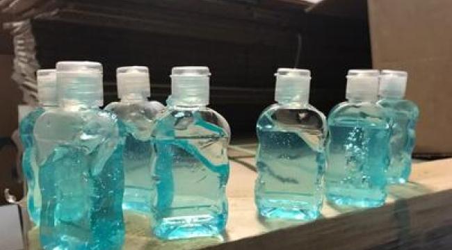 Çanakkale'de sahte dezenfektan operasyonu: 1 gözaltı