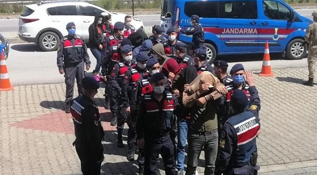 Çanakkale'de uyuşturucu operasyonunda 11 şüpheli yakalandı