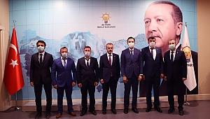 AK Parti, İlçe Başkanları Belirlendi