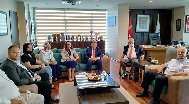 GELECEK PARTİSİ'NDEN BAŞKAN ÜLGÜR GÖKHAN'A ZİYARET