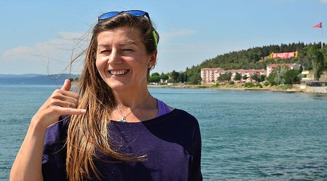 Milli dalışçı Birgül Erken, rekor denemesine hazırlanıyor