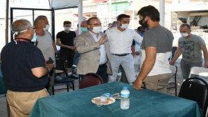 AK Parti TBMM Grup Başkanvekili Turan, esnafla bir araya geldi: