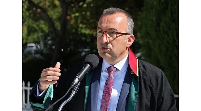 BARO BAŞKANI AV. ŞARLAN ''AVUKATA SAYGI, HAK ARAYAN VATANDAŞA SAYGIDIR''