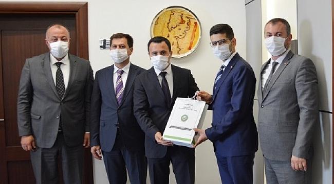 CUMHURBAŞKANLIĞI YATIRIM DESTEK OFİSİ'NDEN ÇTSO'YA ZİYARET
